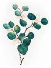 Овен | Тропическая зелень №2. Размер - 20 х 25 см