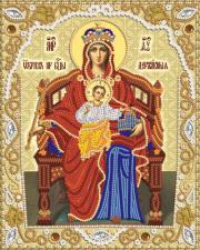 Маричка | Пресвятая Богородица Державная. Размер - 18 х 23 см