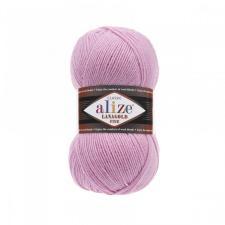 Пряжа для вязания Ализе LanaGold Fine (49% шерсть, 51% акрил) 100г/390м цв.098 розовый