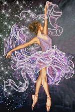 Маричка | Танец ветра. Размер - 25 х 37 см