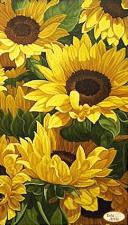Тэла Артис | Солнечное поле. Размер - 24 х 42 см