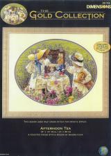 Схема для вышивки Dimensions 35152 Afternoon Tea