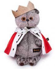 Кот Басик - царь, мягкая игрушка BudiBasa. Размер - 22 см