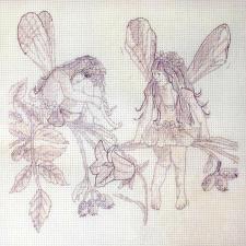 Anchor | Rosehip Fairies/Феи шиповника. Размер - 18 х 18 см