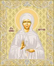 Маричка | Святая Блаженная Матрона Московская (золото). Размер - 26 х 32 см