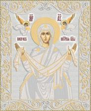 Маричка | Покров Пресвятой Богородицы (серебро). Размер - 26 х 32 см