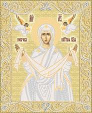 Маричка | Покров Пресвятой Богородицы (золото). Размер - 26 х 32 см