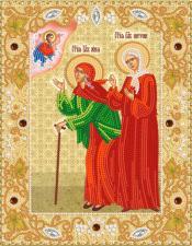 Маричка   Икона Блаженных Ксении Петербургской и Матроны Московской. Размер - 18 х 23 см