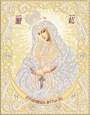 Маричка | Богородица Остробрамская (золото). Размер - 18 х 23 см