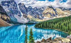 Тэла Артис | Озеро Морейн. Размер - 39 х 24 см