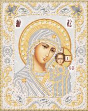 Маричка | Венчальная пара. Казанская Богородица (серебро). Размер - 14 х 18 см