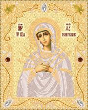 Маричка | Семистрельная Пресвятая Богородица (золото). Размер - 14 х 18 см