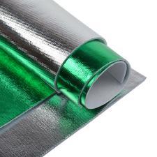 Набор листового фетра металлизированный IDEAL 1,4мм 20х30см арт.FLT-ME3 уп.2 листа цв.ассорти (зелёный,серебро)