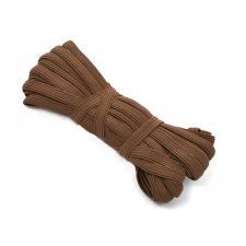 Резинка-продержка арт.с39 7-8мм цв.коричневый уп.10м