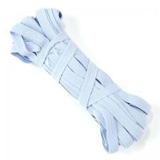 Резинка-продержка арт.с39 7-8мм цв.бледно-голубой уп.10м