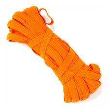 Резинка-продержка арт.с39 7-8мм цв.оранжевый уп.10м