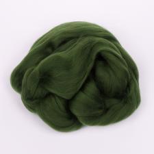 Пехорка | Шерсть для валяния (100% п/т шерсть) 50г цв.013 тёмно-оливковый