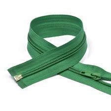 Молния MaxZipper пластиковая спираль №5-N разъёмная однозамковая цв.F258 зелёный