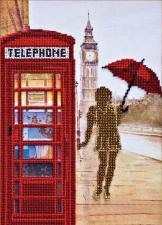 Лондонские сюжеты-1. Размер - 22 х  32 см.