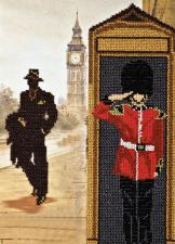 Лондонские сюжеты-2. Размер - 22 х  32 см.