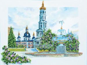 Покровский собор. Размер - 35 х 27,5 см.