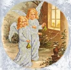 Краса и творчество | Рождественские истории 20. Размер - 15,4 х 15,4 см