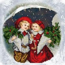 Краса и творчество | Рождественские истории 17. Размер - 15,4 х 15,4 см