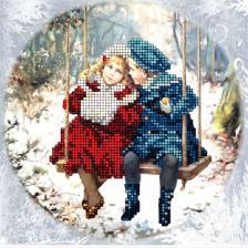Краса и творчество | Рождественские истории 19. Размер - 15,4 х 15,4 см