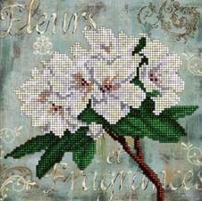 Краса и творчество | Цветы. Размер - 15,4 х 15,4 см