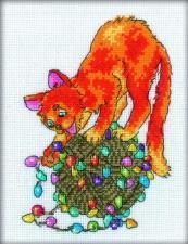 РТО   С117 Праздник для кота. Размер - 13 х 18 см