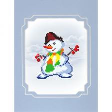 Матрёнин Посад | Снеговик. Размер - 13 х 16 см