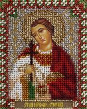 Панна | CM-1491 Икона Святой первомученик Стефан. Размер - 8,5 х 10,5 см