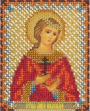 Панна | CM-1493 Икона Святая мученица Надежда Римская. Размер - 8,5 х 10,5 см