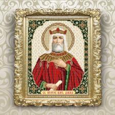 Арт Соло   VIA4187 Святой пророк царь Давид. Размер - 20,5 х 25 см