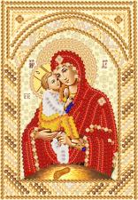 Маричка | Пресвятая Богородица Почаевская. Размер - 7,5 х 10,5 см