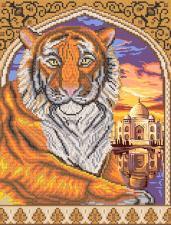 Маричка   Тигр в арке. Размер - 26 х 34 см