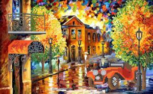 Маричка | Яркие краски осени. Размер - 37 х 23 см