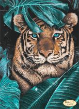 Тэла Артис   Тигр в джунглях. Размер - 24 х 33 см