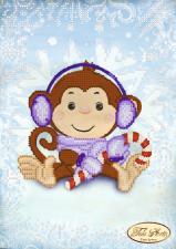 Тэла Артис | Малыш и снежок. Размер - 17 х 24 см