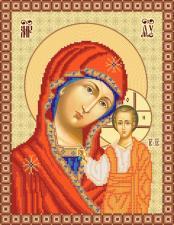 Маричка | Богородица Казанская. Размер - 26 х 34 см