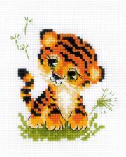 "Риолис   ""Крошка Тигр"". Размер - 13 х 16 см"