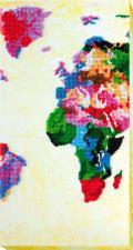 Карта мира 2. Размер - 18 х 34 см.