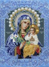 Икона Божией Матери Неувядаемый цвет. Размер - 19 x 26 см.