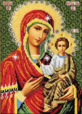 Смоленская икона Божьей Матери. Размер - 19 х 26 см.