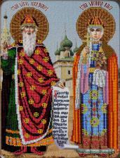 Икона Святые Равноап. Ольга и Владимир. Размер - 27 х 36 см.