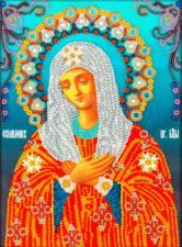 Икона Божья Матерь Умиление. Размер - 19,5 х 26,5 см.