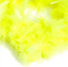 Боа (перо). Цвет-лимонный