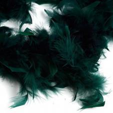 Боа (перо). Цвет-тёмно-зелёный