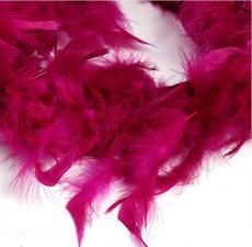 Боа (перо). Цвет-малиновый