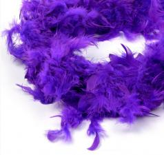 Боа (перо). Цвет-фиолетовый